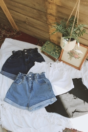 Trend Shop High Waisted Shorts - Front cropped