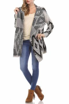 Shoptiques Product: Aztec Wrap Sweater