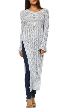Shoptiques Product: Maxi Slit Sweater