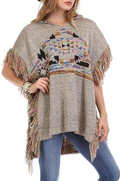 Shoptiques Product: Tribal Print Poncho