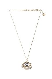 Lets Accessorize Trendy Eye Necklace - Product Mini Image