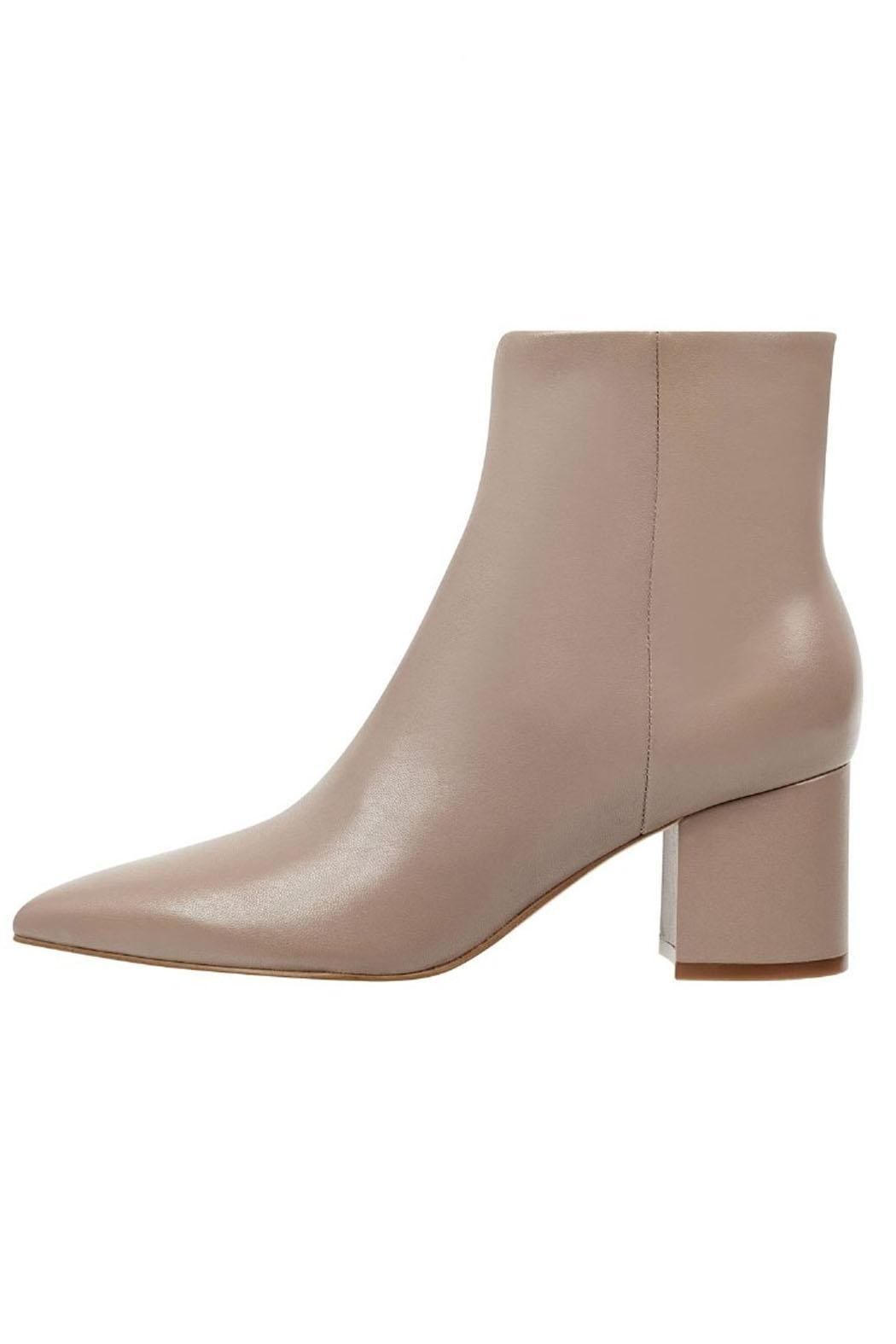 Marc Fisher LTD Trendy Leather Bootie - Main Image
