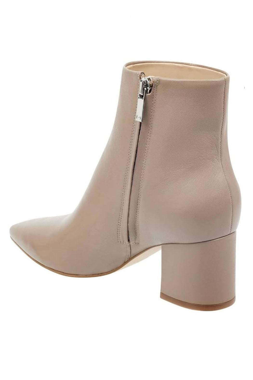 Marc Fisher LTD Trendy Leather Bootie - Front Full Image