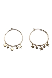 Lets Accessorize Trendy Star Hoops - Product Mini Image