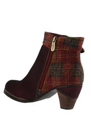 Spring Footwear Trendy Tartan Bootie - Side cropped