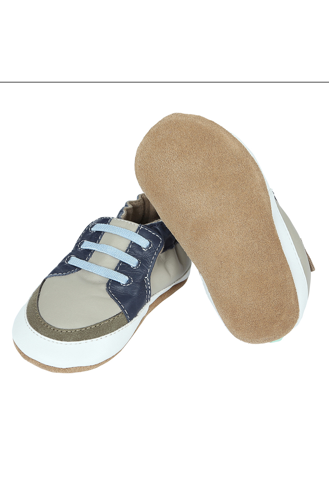 Robeez Trendy Trainer Arthur Soft Soles - Side Cropped Image