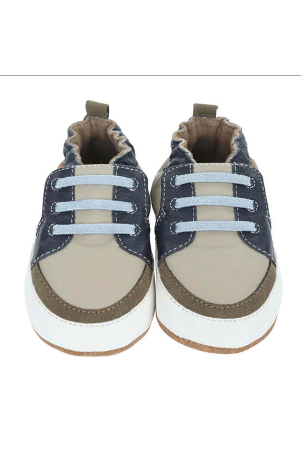Robeez Trendy Trainer Arthur Soft Soles - Front Full Image