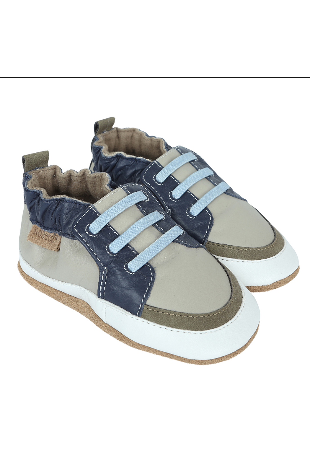 Robeez Trendy Trainer Arthur Soft Soles - Front Cropped Image