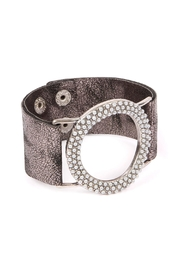 Riah Fashion Trendy-Wide-Cuff Wristband - Product Mini Image