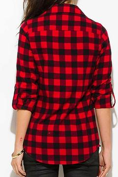 Shoptiques Product: Buffalo Plaid Top