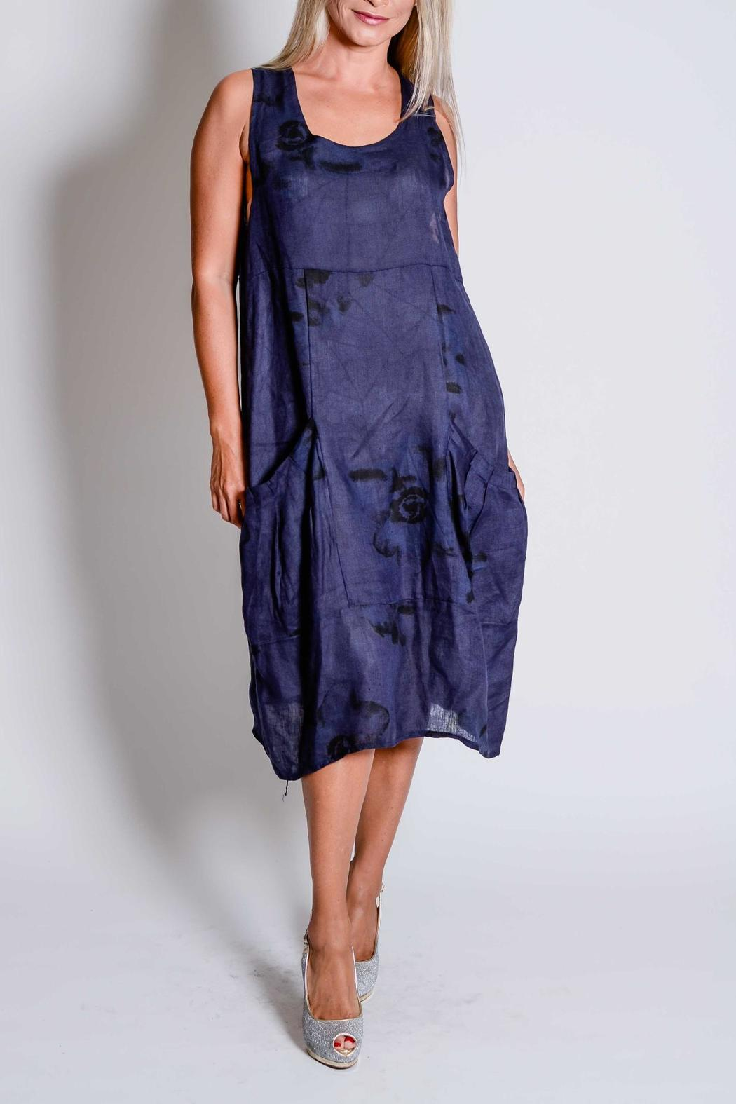 Trendy Style Italian Linen Dress From Santa Monica By