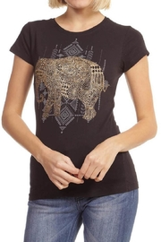 trendy u Glitter Elephant Top - Front cropped