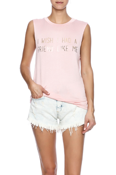 Shoptiques Product: Pink Muscle Top