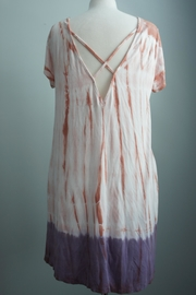 Tres Bien Criss-Cross-Back Tiedye Dress - Product Mini Image