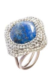 Tresca Italia Blue Lapis Ring - Product Mini Image