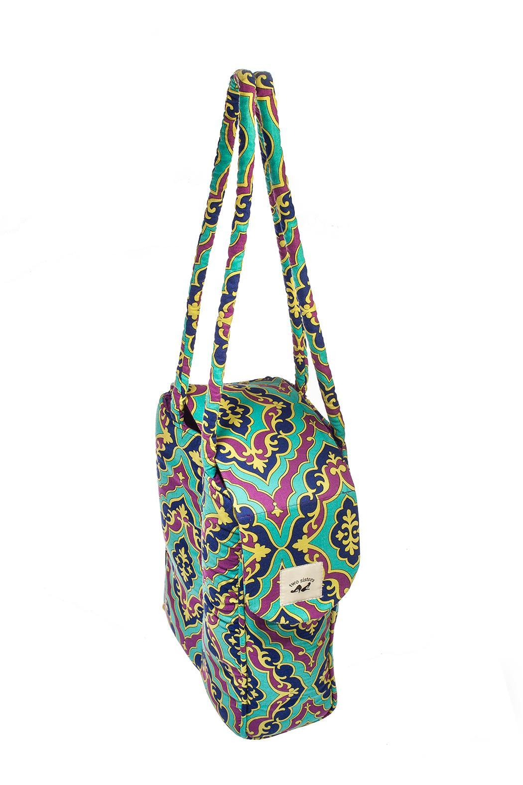 Two Sisters Accessories Travel Shoe Totes - Back Cropped Image