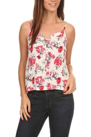 Tresics Floral Tank Top - Product Mini Image