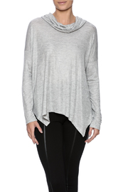 Tresics Gray Cowl Tee - Product Mini Image