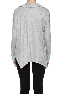 Tresics Gray Cowl Tee - Alternate List Image