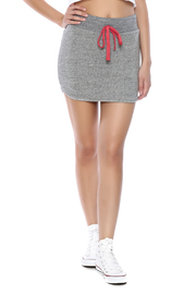 Tresics Gray Mini Skirt - Product Mini Image