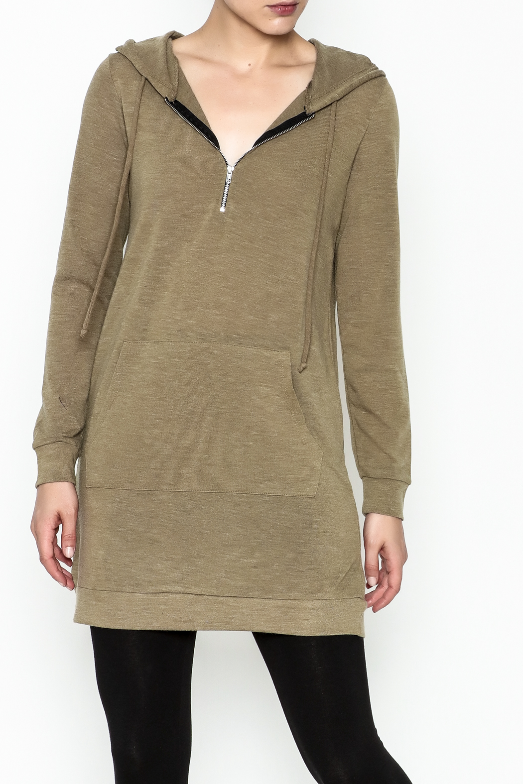 Tresics Long Hoodie - Front Cropped Image