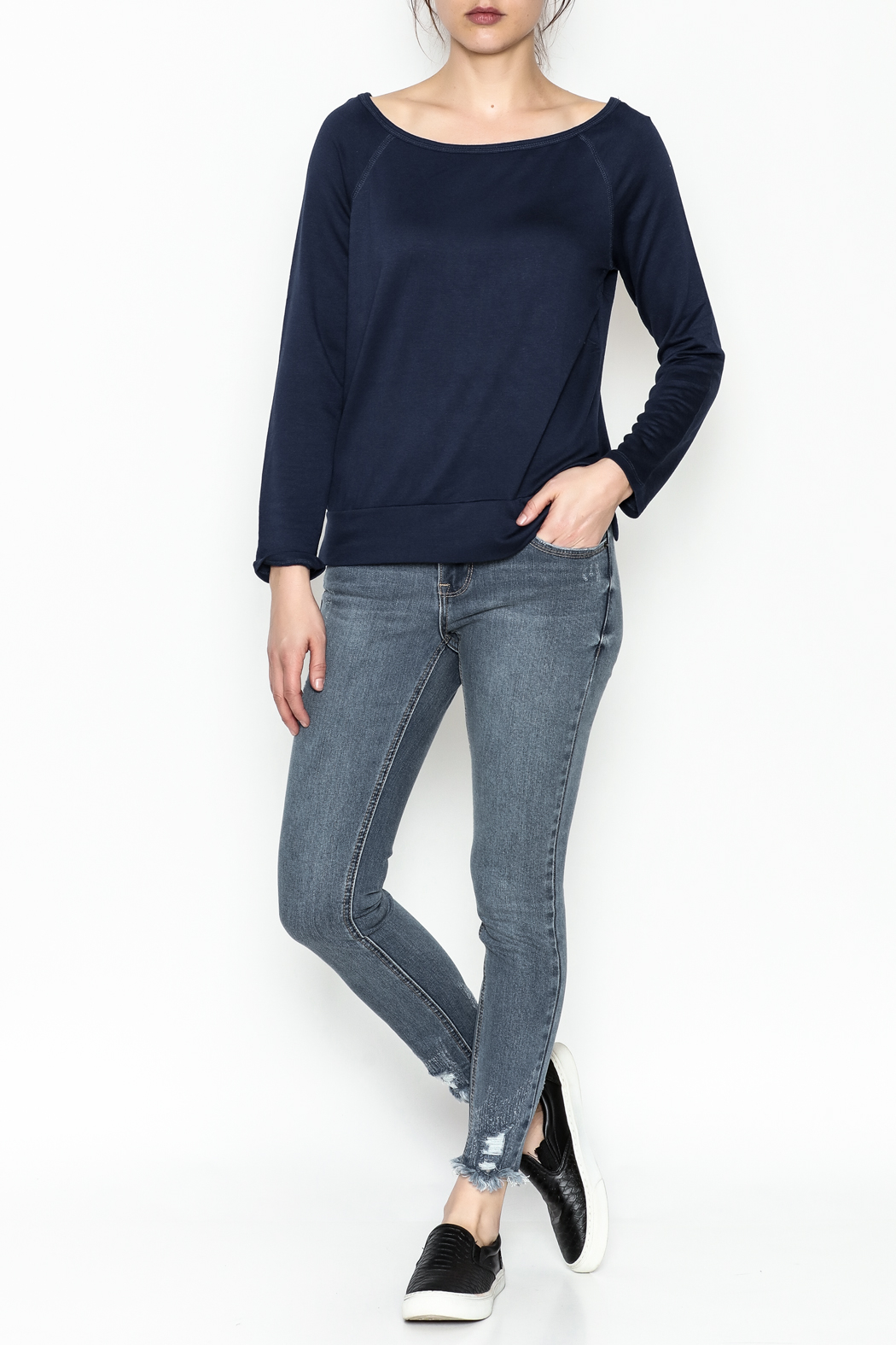 Tresics Long Sleeve Top - Side Cropped Image