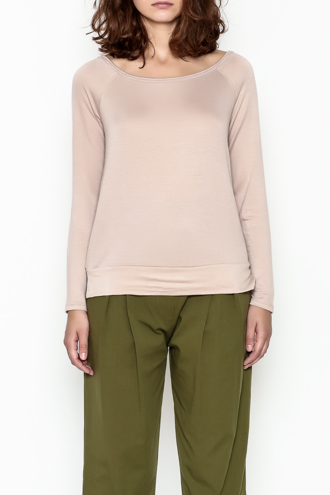 Tresics Long Sleeve Top - Front Full Image