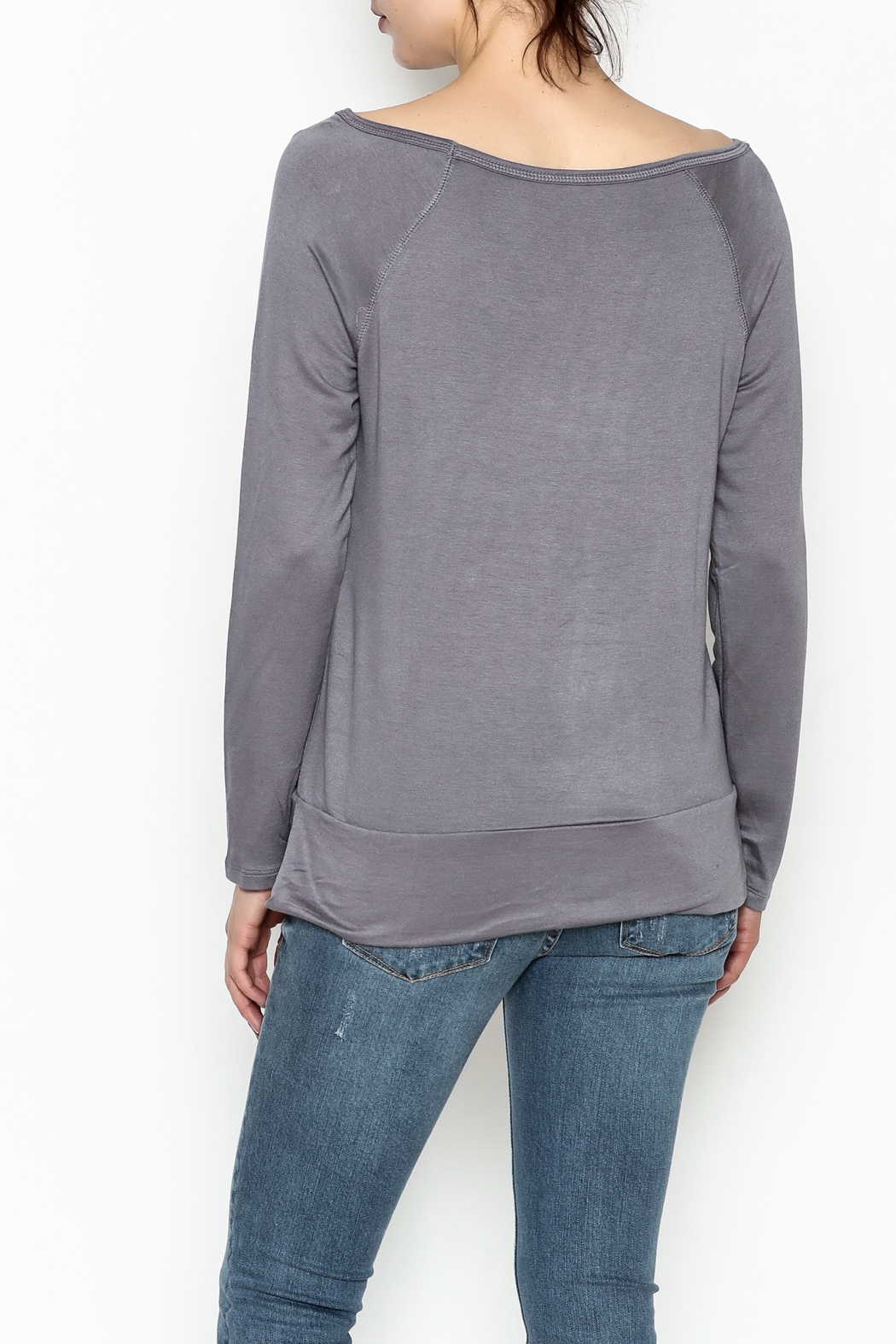 Tresics Long Sleeve Top - Back Cropped Image