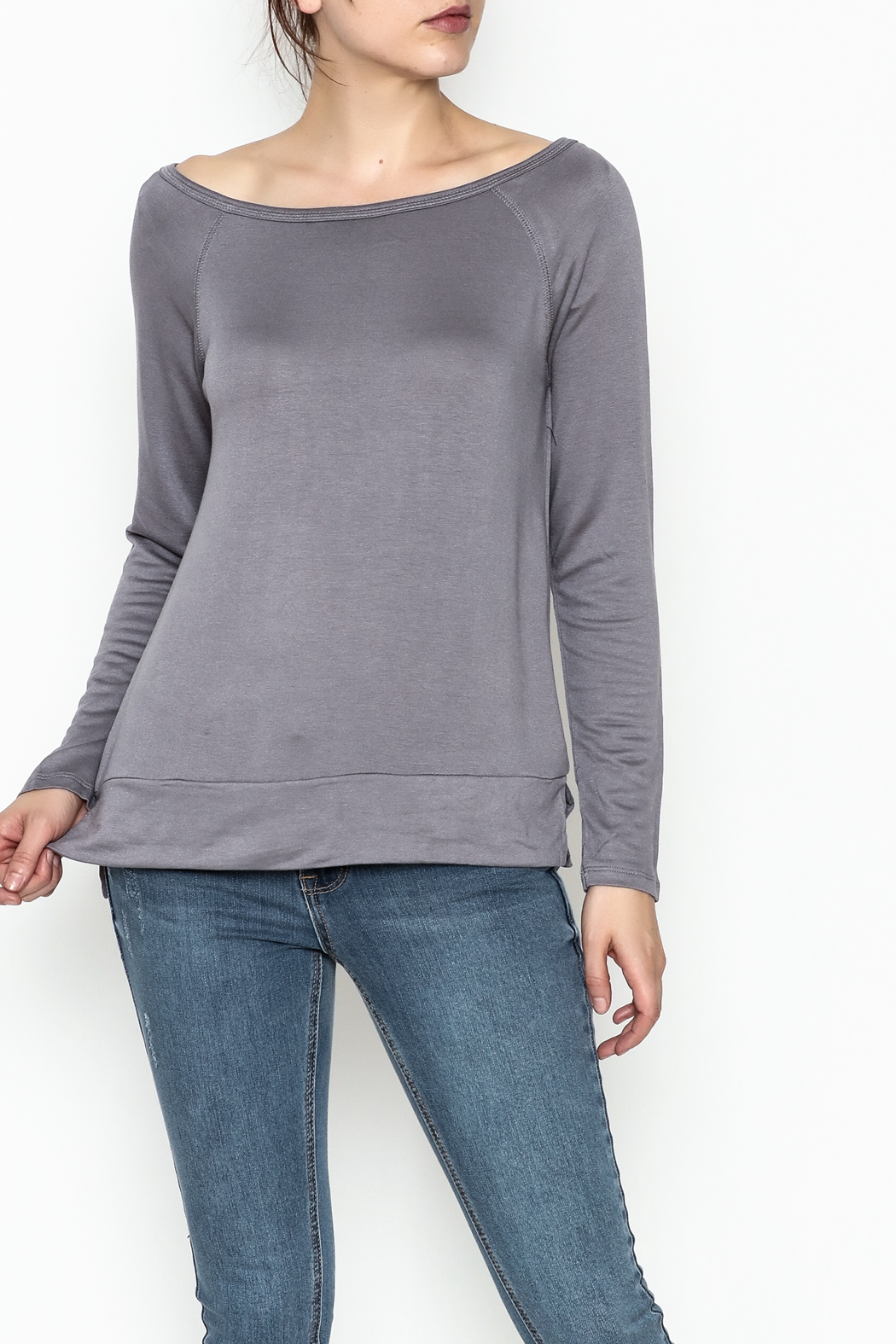 Tresics Long Sleeve Top - Front Cropped Image