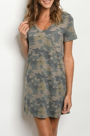 Tresics Olive Camo Dress - Product Mini Image