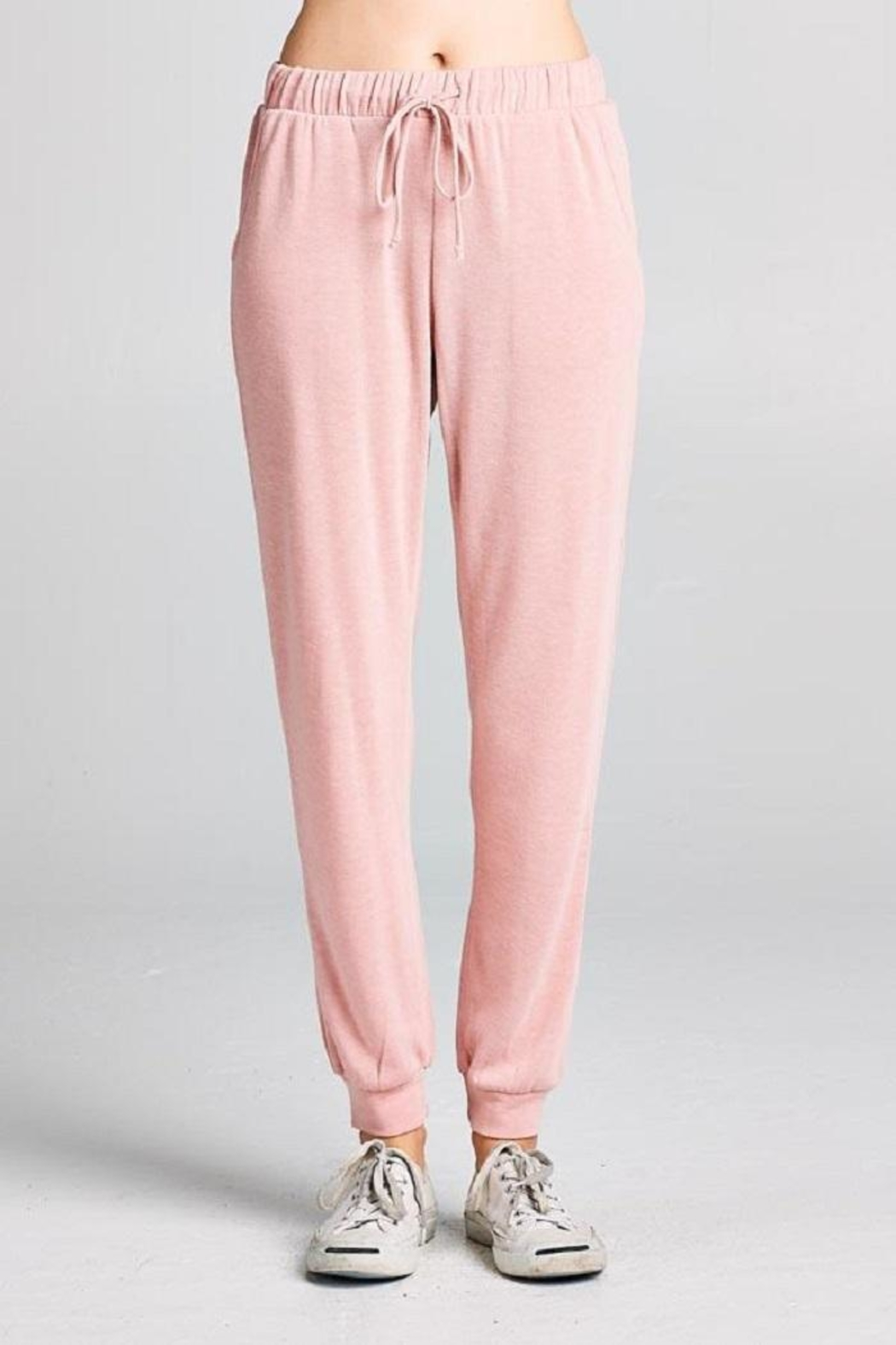 Tresics Pink Jogger Pant - Front Cropped Image