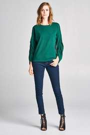 Tresics Puff Sleeve Sweater - Product Mini Image