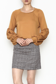 Tresics Ruffle Sleeve Sweatshirt - Product Mini Image