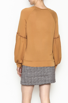 Tresics Ruffle Sleeve Sweatshirt - Alternate List Image