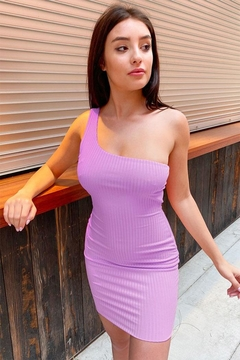 Tresser Rib Mini Dress - Alternate List Image