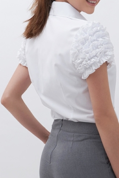 TREVE White Mangotas Blouse - Product List Image