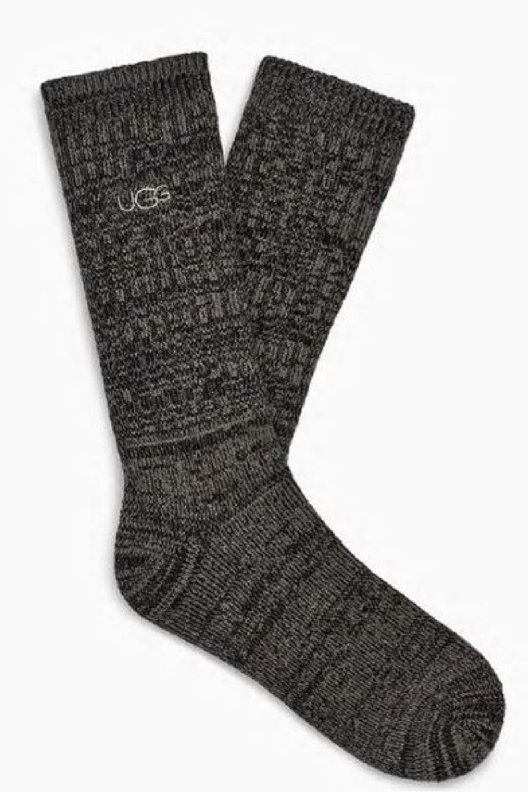 Ugg Trey Rib Men's Crew Socks - Front Cropped Image