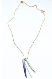 Lucia Moon Designs Tri-Color Shell Necklace - Product Mini Image