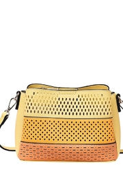 Mellow World tri-colored crossbody bag with 3 compartments - Product Mini Image
