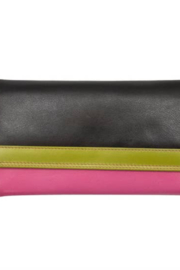 ILI Tri -Fold Leather Wallet - Front cropped