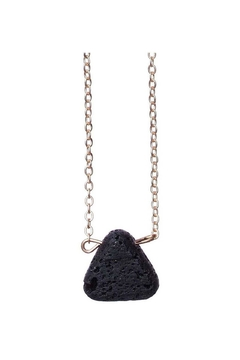 bops Triangle Lava Necklace - Product List Image