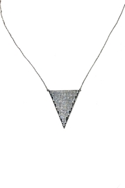 Lets Accessorize Triangle Necklace - Product Mini Image