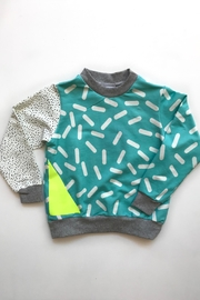 Shapes Of Things Triangle Pop Sweatshirt - Product Mini Image