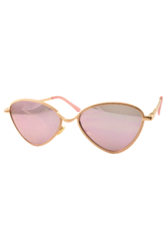 R+D Hipster Emporium  Triangle Retro Sunglasses - Alternate List Image