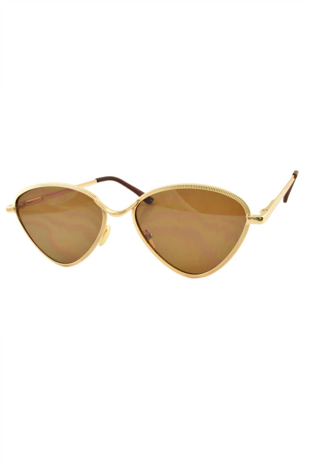 R+D Hipster Emporium  Triangle Retro Sunglasses - Main Image
