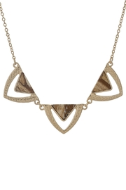 Wild Lilies Jewelry  Triangle Statement Necklace - Product Mini Image