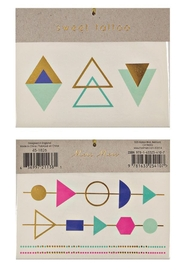 Meri Meri Triangle Tattoos - Product Mini Image