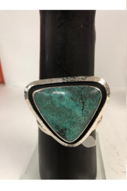 Lincoln Jewelry Triangle Turquoise Bracelet - Front cropped
