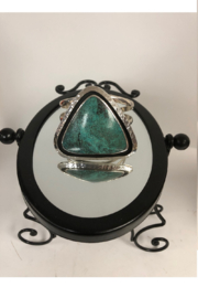 Lincoln Jewelry Triangle Turquoise Bracelet - Front full body