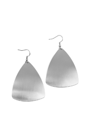 Riah Fashion Triangular Drop Earrings - Product Mini Image